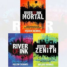 Helen Dennis Collection 3 Books Set River of Ink Series Genesis,Zenith,MortalNEW