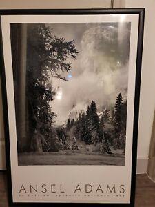 Ansel Adams Authorized Edition El Capitan Yosemite National Park Print 35.5x23.5