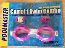 Poolmaster Swimming Pool Compi Junior Sport Goggles Nose & Ear Combo Pack