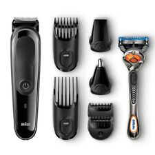 Braun Men Multi Grooming Kit 8-in-1 Beard Head Body Nose Nasal Face Hair Trimmer