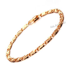 FREE Charm Gold Filled Unisex Bracelet Chain Link Fashion Bangle Jewelry