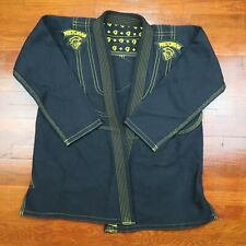 Pretorian Black Martial Arts Gi Top // MMA Kimono Fighting Jiu Jitsu