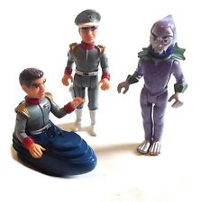 Gerry Anderson's STINGRAY SAM SHORE, TROY & TITAN toy figures 1990's series