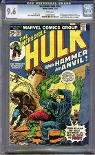 Incredible Hulk #182 CGC 9.6 NM+ WHITE Pages Universal CGC #1206618003