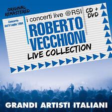 """ROBERTO VECCHIONI  """"LIVE COLLECTION@RSI""""  (CD+DVD)"""