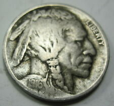 1916 D early Buffalo Nickel Coin grades VF (#35c)