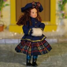 Daniella Doll, Dolls House Miniature Little Female Girl Doll 1;12 Scale