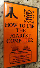 Atari St Computer Tutorial Vhs Video: How To Use The Atari St Computer!