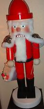 "*New* Steinbach Nutcracker SAINT NICHOLAS Giant X-Large 32"" Very Rare"
