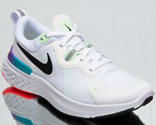 Nike React Miler Women's White Black Athletic Running Jogging Gym Shoes Sneaker