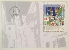 Switzerland 1999 Naba 2000 Minisheet FDC St Gallen SHS Unaddressed