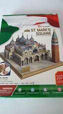 3D Puzzle St. Marks Square Markusplatz Venedig Italien Cubic Fun Italy Venice