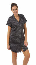Patternless Everyday Knee Length Nightwear for Women