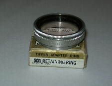 TIFFEN 32MM SCREW IN FILTER HOLDER ADAPTER RING WITH SERIES 5 CLEAR FILTER