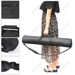 Tripod Bag Padded Carry Case Black 60-80cm Zip Studio Light Stand Travel Black