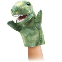 Little T- REX  Stage Puppet # 2997 ~ Free Shipping in USA ~ Folkmanis Puppets
