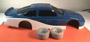 ACTION PERFORMANCE 1:12th  PREPRODUCTION RESIN 1999 TAURUS NASCAR BODY / WHEELS