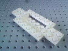 Lego Plate Car Base 4x10x2/3, 2x4 Centre [30029] - White x1