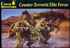 Caesar Miniatures Modern Counter-Terrorist Elite Force Soldiers Figuren 1:72 kit