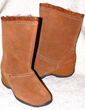 New Sporto Brown Mid Calf Winter Boots Abbey