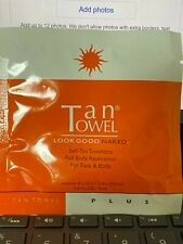 TanTowel Plus Full, Half Body Medium to Dark Tanning Tan Towels Fresh