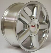 New Set of 4 GMC Sierra Z71 Denali Yukon SLT Tahoe  Polished 20 inch Wheels Rims