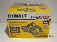 "DEWALT DCS575T1 60V-MAX FLEXVOLT BRUSHLESS CORDLESS 7-1/4"" CIRCULAR SAW NISB FS!"