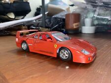 Burago 1987 FERRARI F40 1:18 Scale Diecast Made In Italy