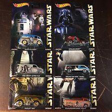 Star Wars * 6 Car Set * Hot Wheels Pop Culture Drag Truck, Astro * NB3