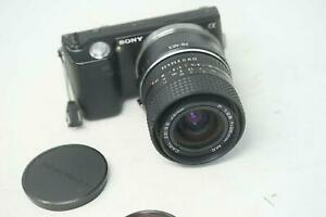 SONY E MOUNT ADAPTED 28MM F2.8 CARL ZEISS JENA MC PRIME LENS ALL A7 NEX,A6000
