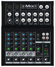 Mackie Mix8 - 8-Channel Compact Studio Mixer