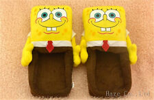 SPONGEBOB Squarepants Soft Plush Stuffed Slipper AA*