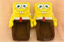 SPONGEBOB Squarepants Soft Plush Stuffed Slipper AA*