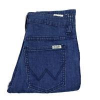 WRANGLER MID TWIGGY blue denim skinny jeans 6