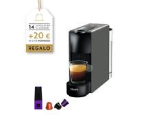 Cafetera de cápsulas - Nespresso Krups XN110B Essenza Mini, 19 bares, Gris