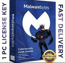 Malwarebytes Premium License Key Anti Malware Lifetime Windows/PC One Device