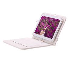 "IRULU HD 10.1"" Google Android 5.1 Tablet Quad Core GPS 1GB/8GB w/ White Keyboard"
