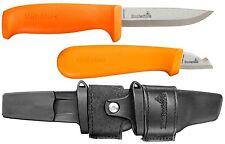 Hultafors Knife Messer im Doppelholster HVK + ELK Knives In Double Holster