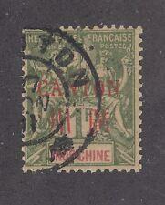 France China Canton Sc 13 used 1901 1fr Navigation & Commerce