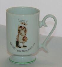Vintage Holly Hobby Mug Love Is That Little Something Extra 1974 Porcelain Japan