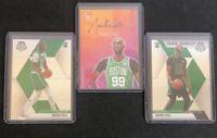 Lot of 3x Tacko Fall Panini Court Kings Fresh Paint Ruby /99, Mosaic, NBA Debut