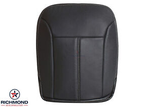 2007 2008 2009 Mercedes Benz GL450 -Driver Side Bottom Leather Seat Cover Black
