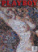 45TH ANNIVERSARY ISSUE January 1999 PLAYBOY Magazine TOP 100 SEX STARS