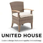 New Outdoor Wicker Teak Timber Dining Chair Rattan Cane Patio Deck Furniture