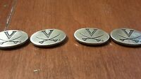 4 Northwestern University Screw in Conchos for Belts comes with Screws