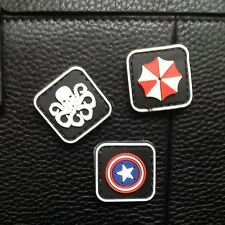 3 MINI AVENGERS Resident Evil 3D TACTICAL ARMY MORALE PVC PATCH
