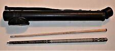 """Mike Massey Signature Billiard Pool Cue 58"""" 20 oz With Olhausen Hard Tube Case"""