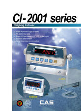 CAS CI series SCALE CAS RW CI-2001BS w/LCD Backlight SS Enclosure