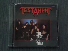 TESTAMENT - THE TEST OF TIME - CD BOOTLEG METAL MEMORY 1992 - RARISSIMO!