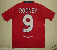 ENGLAND / ROONEY #9 - 2008-2010 Away - UMBRO - JUNIOR Shirt / Jersey. LB, 152cm